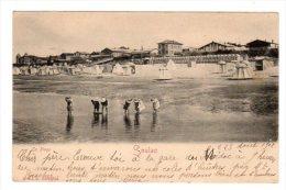 Dept 33,Gironde,Cpa Soulac Sur Mer,La Plage - Soulac-sur-Mer
