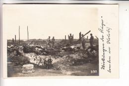 UKRAINE - HOLOBY, Wirkung Der Fliegerbomben In Holoby, 1.Weltkrieg, Photo-AK - Ukraine