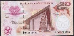 PAPUA NEW GUINEA  P36  20  KINA  2008   UNC. - Papua New Guinea
