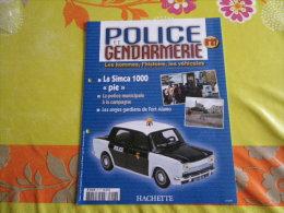 FASCICULE UNIQUEMENT SIMCA 1000 POLICE...REGARDEZ MES VENTES...J'EN AI D'AUTRES... - Autres Collections
