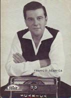 Franco Scarica Fisarmonicista  Anni 50/60,  Fotocartolina   Con Discografia - Entertainers