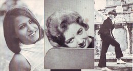 Anna D'Amico, Rita Monico, Franchina,  Cantanti   Anni 60,  3 Fotocartoline   Con Discografia - Entertainers