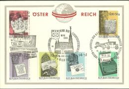 Sonderkarte M. Kompl. WIPA-Satz, 1965 - 1945-.... 2. Republik