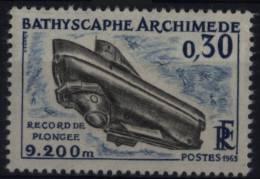 N° 1368 - X X - ( F 516 ) - ( Bathyscaphe Archimède ) - France