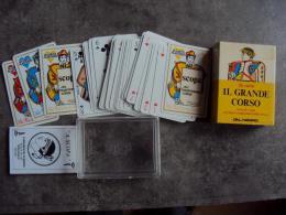 Ancien Jeu De 36 Cartes Scopa Jeu Traditionnel Corse N°3 - Cartes à Jouer Classiques
