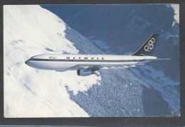 8763-OLIMPIC AIRWAYS-AIRBUS A300-FP - 1946-....: Moderne