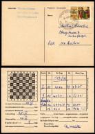 SCHWEIZ 1978 - Fernschach Postkartenturnier / St. Gallen Mit Berlin - Postkarte - Schach