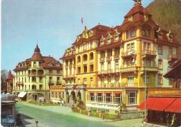 HOTEL ROYAL ST. GEORGES, INTERLAKEN, SWITZERLAND. UNUSED POSTCARD ak1