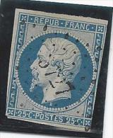 Timbre N°10 Oblitération Losange PC - 1853-1860 Napoleon III