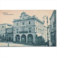 ORSTPA002-LFT4271.Tarjeta Postal DE ORENSE.Edificios,calles,farola,animales Y Personas.AYUNTAMIENTO DE ORENSE - Orense