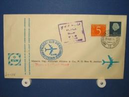 FFC First Flight 164 Amsterdam - Jeddah Saudi Arabië 1960 - A542a (nr.Cat DVH) - Saoedi-Arabië