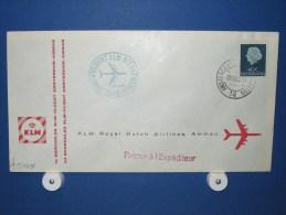 FFC First Flight 165 Amsterdam - Amman Jordanië 1960 - A544a (nr.Cat DVH) - Jordanië