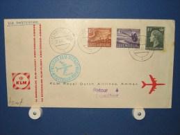 FFC First Flight 167 Amsterdam - Amman Jordanië 1960 - A544f (nr.Cat DVH) - Jordanië