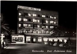 C P S M-C P M---ITALIE---CIVITAVECCHIA--hôtel Restaurant MEDITERRANEO SUISSE--voir 2 Scans - Civitavecchia
