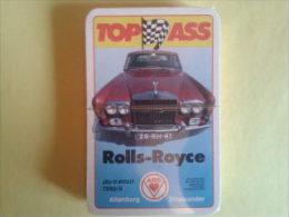 Jeu D Atout.Rolls Royce. Dans Une Boite Plastique Sous Blister - Playing Cards (classic)