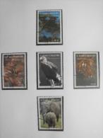 Sao Tomé E Principe 1992 - Wwf - Bedreigde En Beschermde Dieren / Endangered And Protected Animals - Serie + 2 SS - W.W.F.