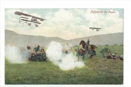 11902  -  Infanterie Im Feuer Avions - Weltkrieg 1914-18