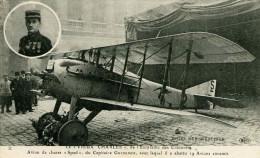 """LE VIEUX CHARLES - Avion De Chasse """"Spad"""" Du Capitaine Guynemer - 1914-1918: 1ère Guerre"""