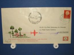 FFC First Flight 187 Amsterdam - Las Palmas 1960 - A561e (nr.Cat DVH) - Postzegels