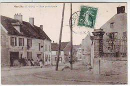 77. MARCILLY . RUE PRINCIPALE . ANIMATION. EPICERIE . TABAC - Autres Communes