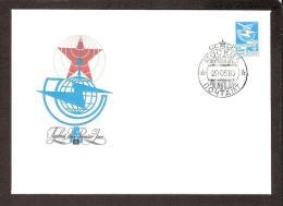 Transport Definitive Issue 1983 USSR Stamp  FDC Mi 5238b Car Train Ship Airplane - Eisenbahnen