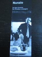 Marques Pages : Nunzio, Spiro Scimone , 2014 - Autres Collections
