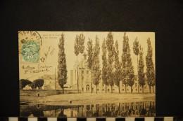 CP, 77, MELUN Quai De La Courtille L'Ecole Des Garçons N° 15 Voyagé En 1906 - Melun