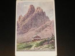 Zsigmondy-Hütte, Sexten, Gelaufen 1916, Flüchtlingshilfe - Bolzano (Bozen)