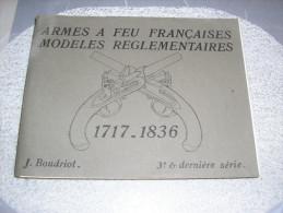 BOUDRIOT armes reglementaires francaises N�3
