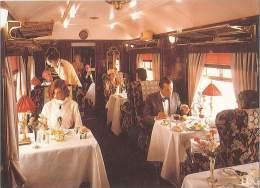 CPM Train - Paris Venise Par Le Tunnel De Simplon Dans Les Wagons Orient Express - Trains