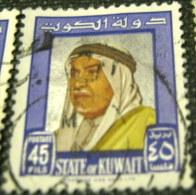 Kuwait 1964  Shaikh Abdullah 45f - used
