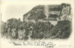 ISERE 71 LIGNE DE VOIRON A SAINT BERON  PASSAGE AUX GORGES DE CHAILLES  COLL. ND ECRITE CIRCULEE 1903  DOS NON DIVISE VE - France