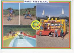 BRETTEVILLE SUR ODON (14-Calvados), Parc D'Attraction Festyland, Fantasia, Jeux Pour Enfants, Ed. Iris La Cigogne - Autres Communes
