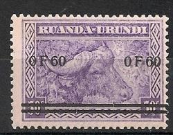 RUANDA URUNDI 115 MNH ** NSCH - 1924-44: Neufs