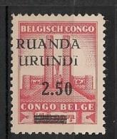 RUANDA URUNDI 120 MNH ** NSCH