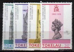 Tokelau Islands      N°  61 / 64 ** - Tokelau
