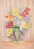 CP - Barré Et Dayez - Barday - Fleurs - Vase - 1472A - 1900-1949