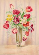 CP - Barré Et Dayez - Barday - Fleurs - Vase - 1472D - 1900-1949