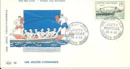Givors 26 04 1958 Les Joutes - Non Classés