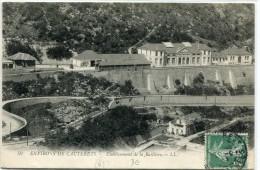CPA 65 ENVIRONS DE CAUTERETS ETABLISSEMENT DE LA RAILLIERE 1909 - Cauterets