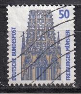 Germania, 1987/96 - 50pf Freiburg Cathedral - Nr.1524 Usato° - [7] Federal Republic