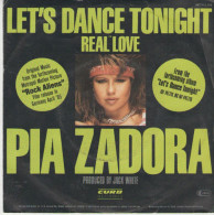 Pia Zadora : Let`s Dance Tonight  /  Real Love - Curb Records 112716 - Disco, Pop