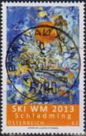 """Österreich 2013: """"Ski-WM In Schladming""""   Gestempelt (siehe Foto/Scan) - 2011-... Gebraucht"""