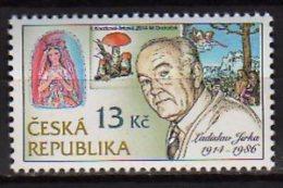 2014 Czech /Tschechien - Stamps Engraver - Ladislav Irka - 100 Years Of Birth -Mushroms, Madonna, Etc  1 V Paper - MNH** - Ungebraucht
