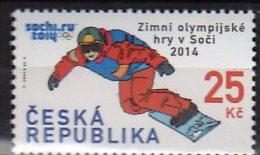 2014 Czech /Tschechien  - Sochi Olimpics - Snowboard - 1 V Paper - MNH** - Tschechische Republik