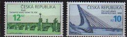 2010 Czech /Tschechien  - Bridges Of Czech Republic - 2  V Paper - MNH** - Ungebraucht