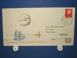 FFC First Flight 192 Amsterdam - Monrovia Liberia 1960 - A561l (nr.Cat DVH) - Liberia