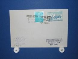 FFC First Flight 195 Las Palmas - Amsterdam 1960 - A562e (nr.Cat DVH) - Postzegels