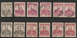 CONGO BELGE 214/24 Selection Used - Belgisch-Kongo