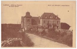 34411 - HOTEL DU TUMUS DE SAINT-MICHEL  CARNAC ROY LE ROUZIC PROPRIETAIRE FRANCE   POSTCARD OLD USED